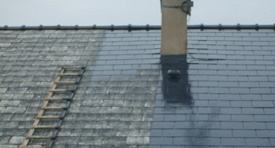 Démoussage de toiture Rougemont