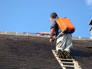 Traitement hydrofuge de toiture Chene-Bourg